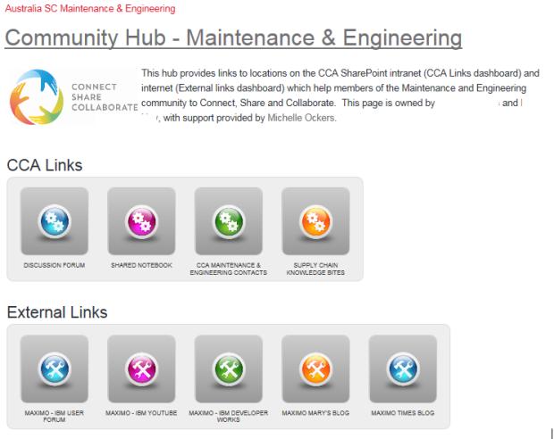 CCA Community Hub